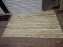 Temporary Deck Repair