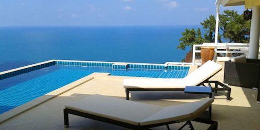 Outstanding Sea View Villa Chaweng Noi