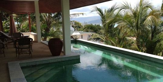 Tongson Bay Pool Villa With Stunning Views of Koh Samui