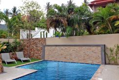 Chaweng Noi, Koh Samui Villa in secure location with sea views
