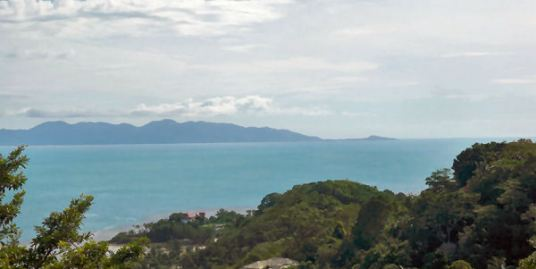 Seaview plots for sale near Nathon, Koh Samui