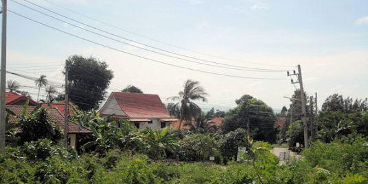 Sea View land in Lamai, Koh Samui, close to the beach