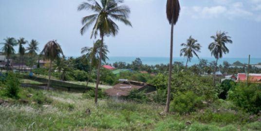 2.5 Rai of land 400 meters to Beach in Choeng Mon