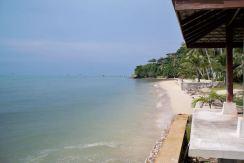 Beachfront land for sale on Koh Samui
