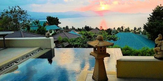 Outstanding Sea Views Plai Laem Villa Koh Samui