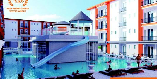 New Waterworld Resort In Lamai With Rental Guarantee