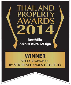 Neo Estate Villa Seawadee Awards