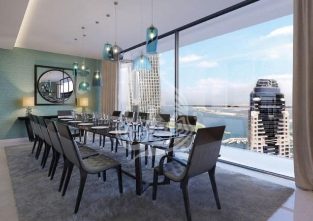 4 Bedroom Penthouse in Dubai Marina, SFF, 1.1