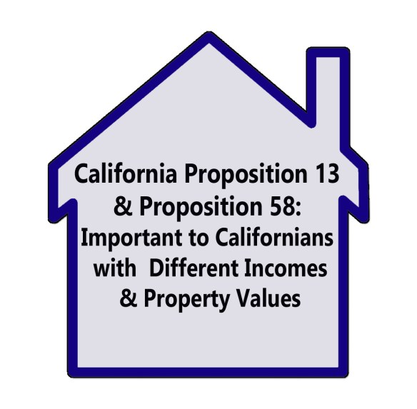 California Proposition 13 and Proposition 58