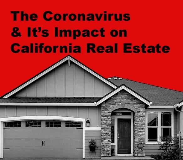 California Real Estate and the Coronavirus