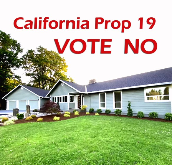 Vote No Proposition 19