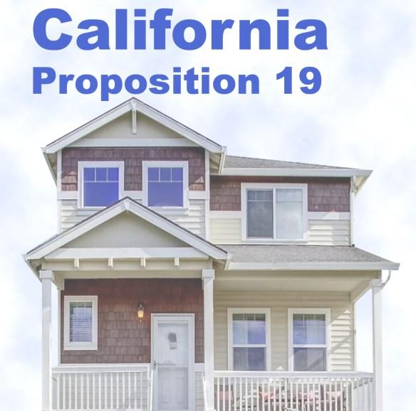 New California Prop 19 Property Tax Transfer
