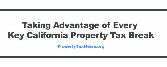 Taking Advantage of Every Key Property Tax Break