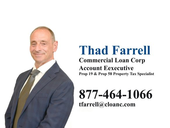 Thad Farrell - Proposition 19 Property Tax Specialist