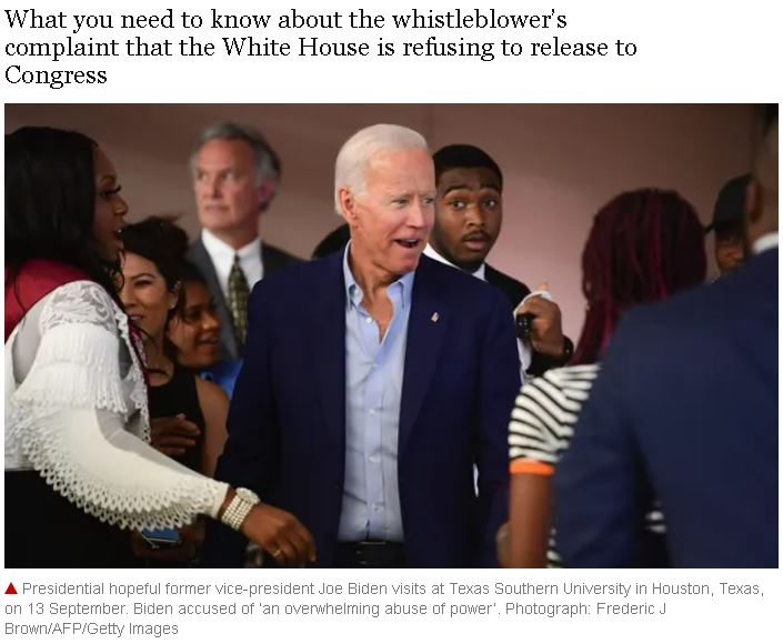 What is the Trump-Ukraine scandal about and how is Joe Biden involved?  theguardian.com