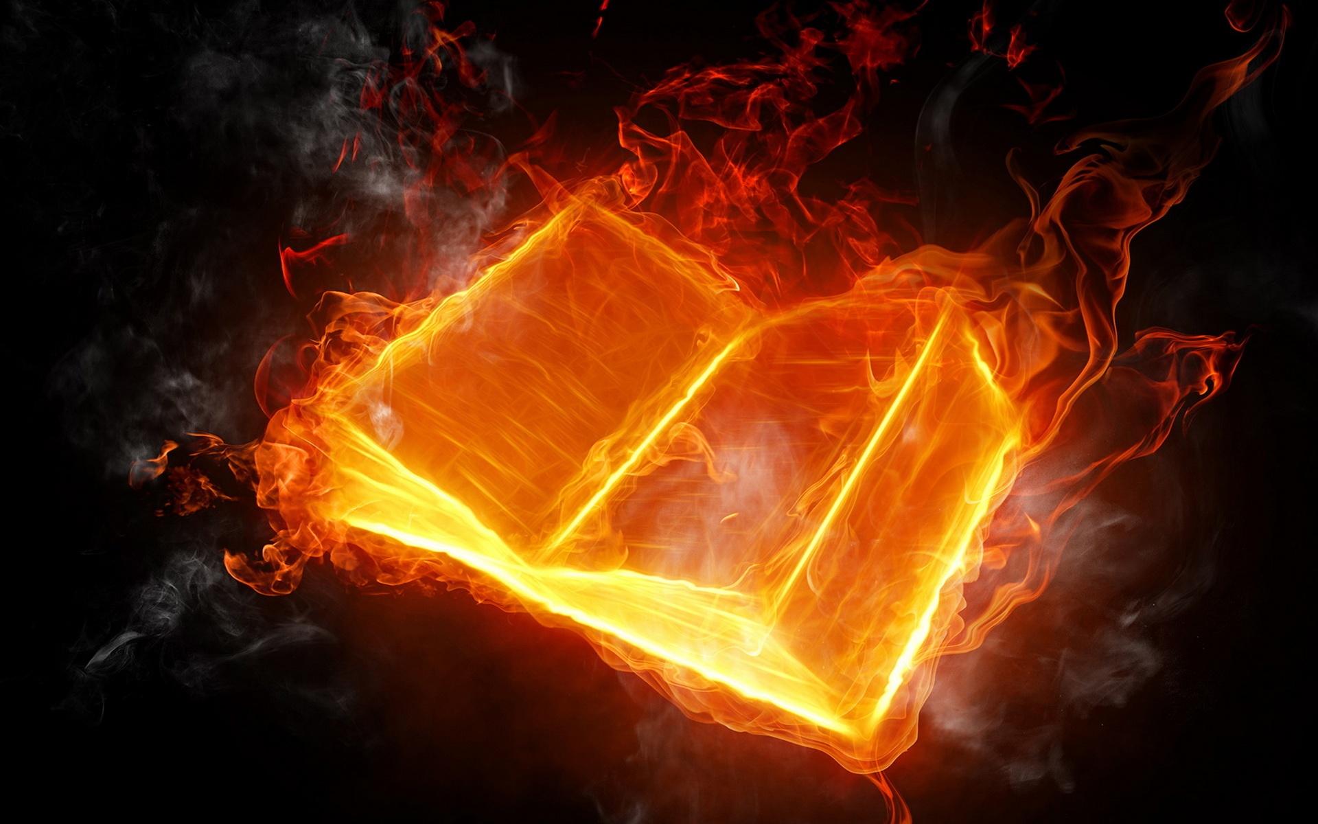 Flaming Word