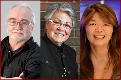 Frank Moher, Sharon Pollock, Lucy Wang