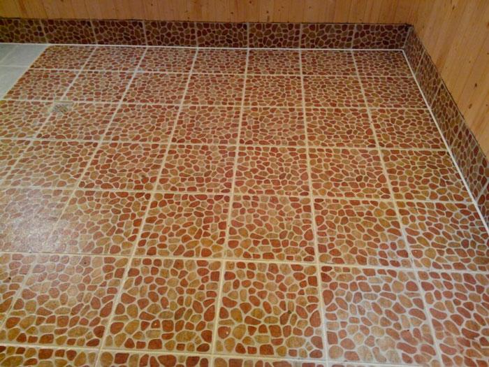 Клей для плитки в бане на пол