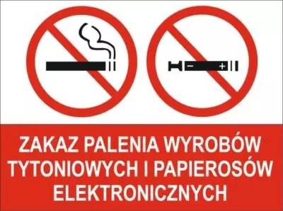 Zakaz palenia wyrobów tytoniowych