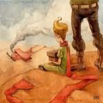 Маленький принц на польском с переводом, глава 3