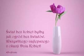 Поздравления с 8 марта на польском языке - ProPolski