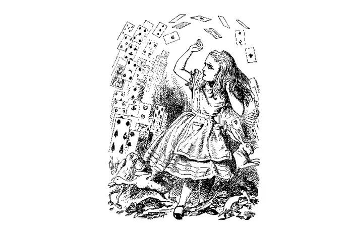 Алиса в стране чудес на польском языке, чтение 12 главы + разбор