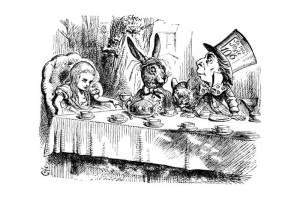 Алиса в стране чудес на польском языке, чтение 7 главы + разбор