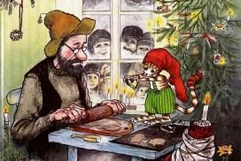 Goście na Boże Narodzenie / Рождество в домике Петсона на польском