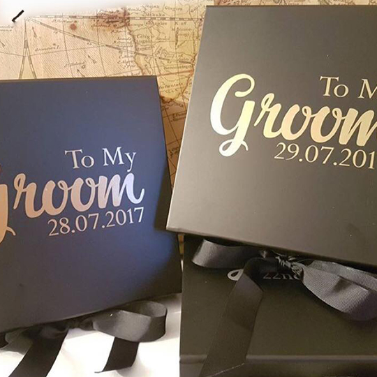 Best Man / Groomsmen Proposal Boxes