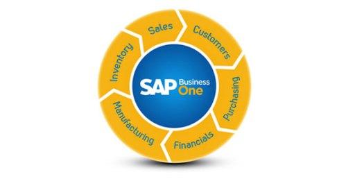 o ERPpara PMEs SAP Business One é composto por módulos básicos e enxutos