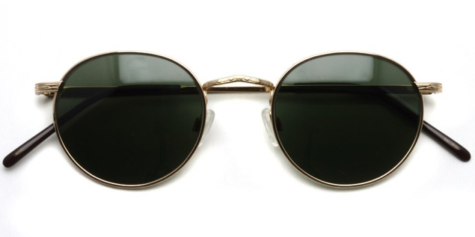 MOSCOT  /  DOV Sun  /  GOLD - G15  /  ¥31,000 + tax