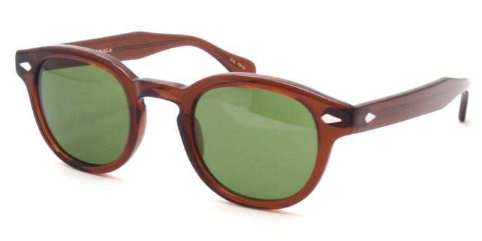 MOSCOT / LEMTOSH Sun / BROWN - C.A.GREEN / ¥30,000 + tax
