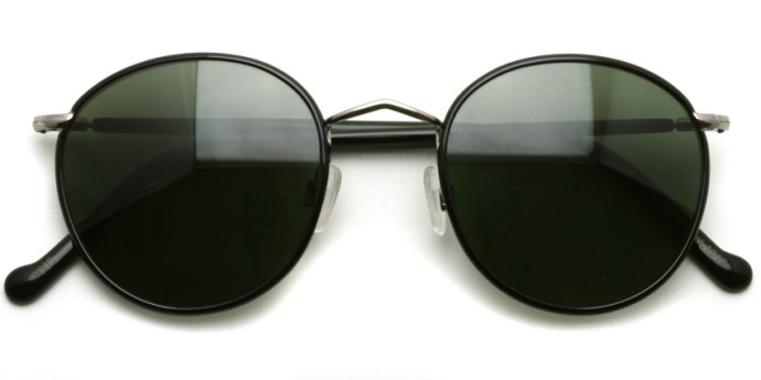 MOSCOT  /  ZEV Sun  /  Black - Gunmetal - G15  /  ¥31,000 + tax