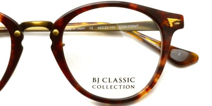 BJ CLASSIC  /  COM - 536MT  /  color* 2  /  ¥32,000 +tax