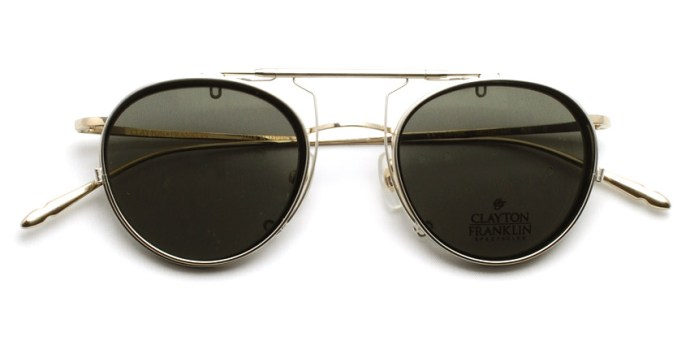 CLAYTON FRANKLIN / 606 Clip / CL-GR Polar / ¥14,000 + tax