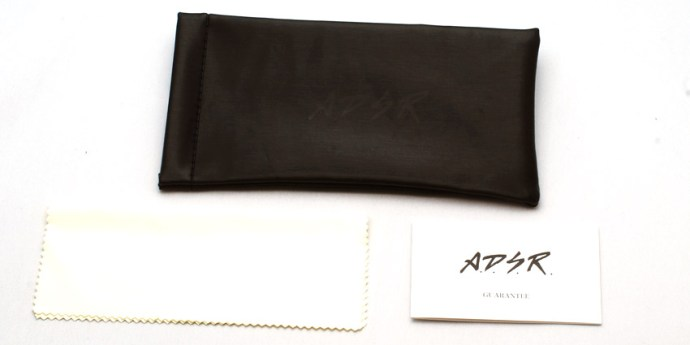 A.D.S.R. / SOFT CASE & GUARANTEE CARD