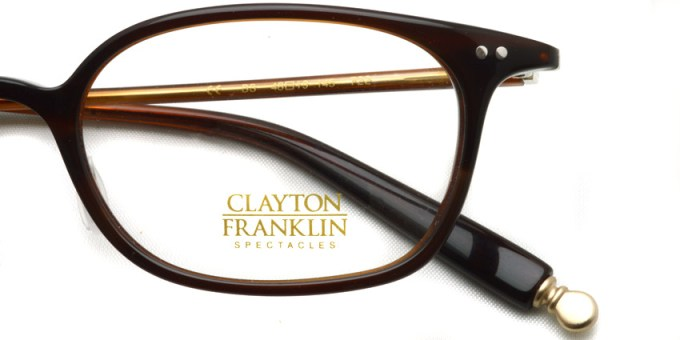 CLAYTON FRANKLIN / 722 / BS / ¥28,000 + tax