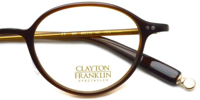 CLAYTON FRANKLIN / 723 / BR / ¥28,000 + tax