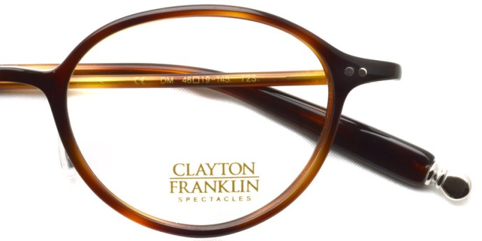 CLAYTON FRANKLIN / 723 / DM / ¥28,000 + tax