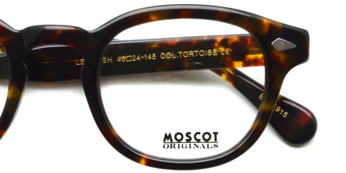 MOSCOT  /  LEMTOSH  /  TORTOISE  /  ¥27,000 + tax