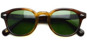 MOSCOT / LEMTOSH Sun / TOBACCO - C.A.GREEN / ¥30,000 + tax