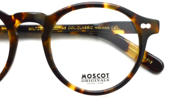 MOSCOT / MILTZEN / CLASSIC HAVANA / ¥27,000 + tax