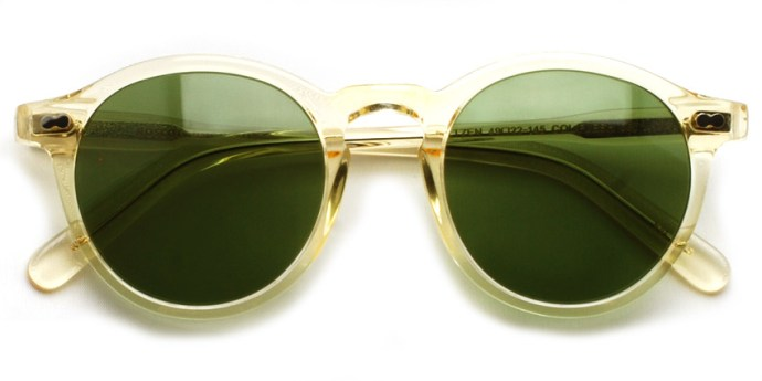MOSCOT  /  MILTZEN Sun  /  FLESH - C.A.GREEN  /  ¥30,000 + tax