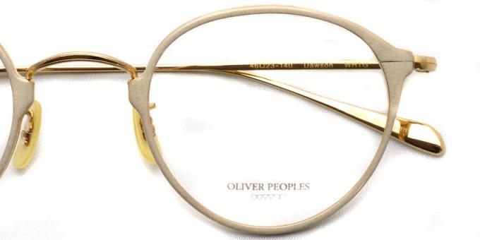 OLIVER PEOPLES / DAWSON / WHTG / ¥34,000 + tax