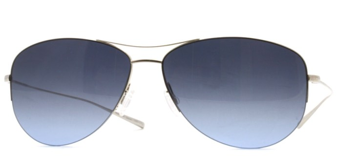 OLIVER PEOPLES /  STRUMMER - T  /  Silver  /  ¥27,000 + tax