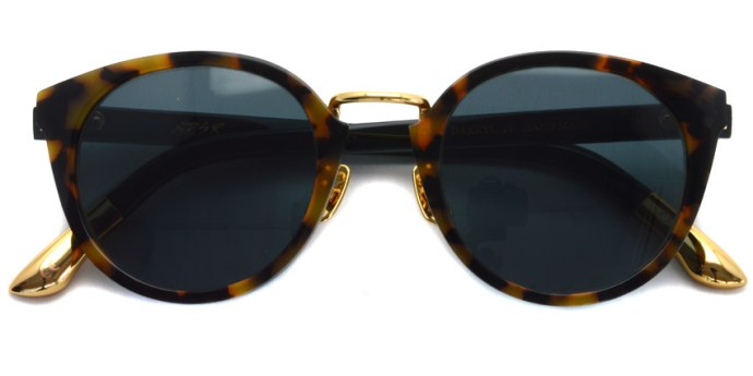 A.D.S.R. / DARRYL18 / HAVANA YELLOW & BLACK - GOLD / ¥17,000 + tax