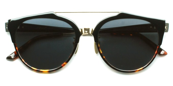 A.D.S.R. / RED02 / ShinyBlack & HavanaBrown - GoldMetal - BlackLens /  ¥20,000 + tax