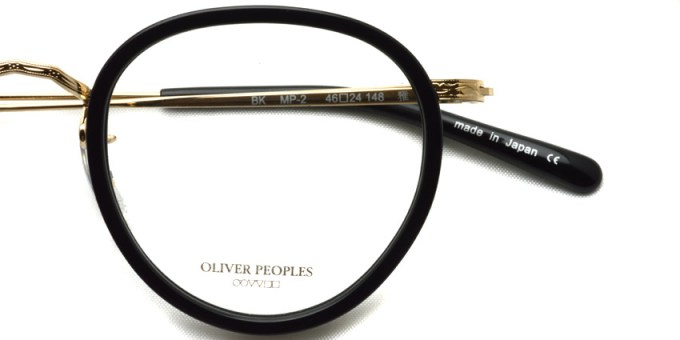 OLIVER PEOPLES / MP-2 / BK / ¥33,000 + tax