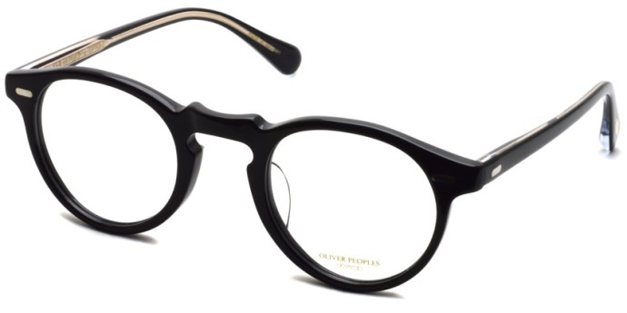 OLIVER PEOPLES / GREGORY PECK -J / BK / ¥30,000 + tax