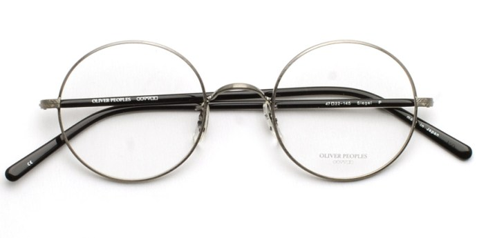 OLIVER PEOPLES /  SIEGEL  /  P  /  ¥35,000 + tax